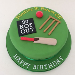 Pro Cricketer Cake
