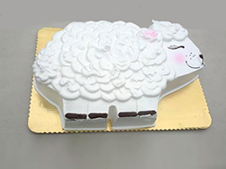Blushing Sheep Eid Cake