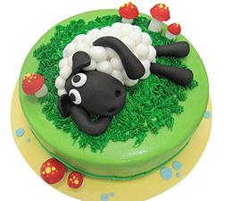 Sheep Day Dreams Cake
