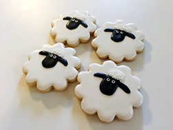 Sheep Cookie Clouds