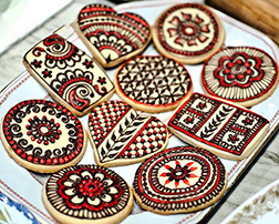 Diwali Designs Cookies