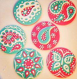 Elegant Diwali Cookies