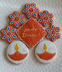 Diwali Wishes Cookies