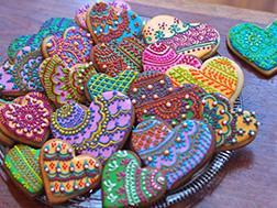 Diwali Henna Cookies