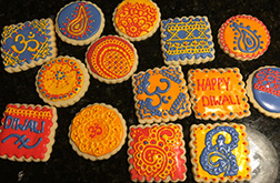 Colors of Diwali Cookies