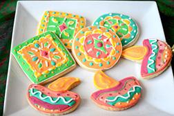 Merry Diwali Cookies