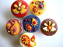 Diwali Cupcake Fantasy