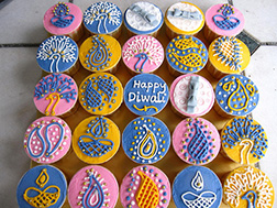 Gourmet Diwali Delight Cupcakes