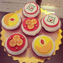 Sweet Rituals Diwali Cupcakes