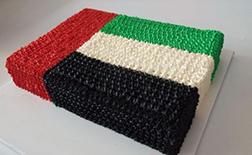 Majestic UAE Flag Cake