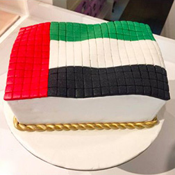 Flying High Flag cake