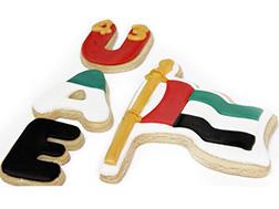 UAE Flag Cookies