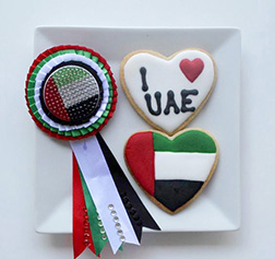National Day Badge Cookies