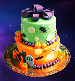 Hallow's Eve Surprises Cake