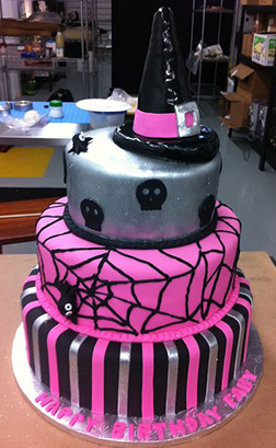 Pink Witch Princess Cake