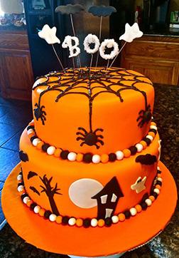 Cake-o-Lantern Cake