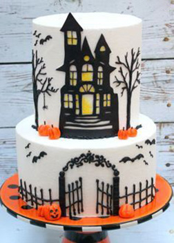 Creaky Haunted House Cake