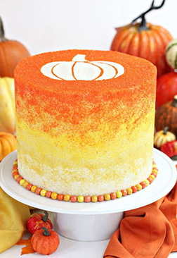 Classy Aumbre Halloween Cake