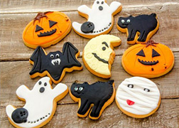 Halloween Night cookies
