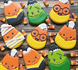 Halloween Costume Cookies