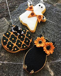 Classy Halloween Cookies
