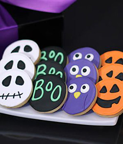 Bump in the Night Cookies