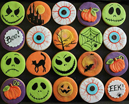 Hallow's Eve Haunting Cookies