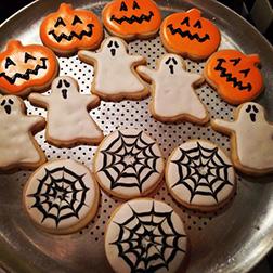 Pumpkins & Sprites Cookies