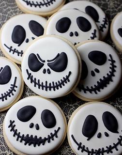 Skellington Cookies