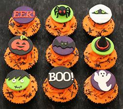Halloween Spooks Cupcakes
