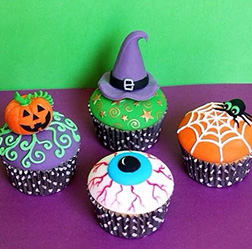 Out The Cauldron Cupcakes