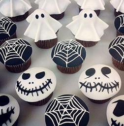 Serve in the Dark Cupcakes