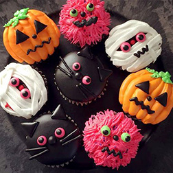 Feeling Watched Cupcakes