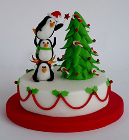 Very Merry Christmas Cake