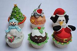 Christmas Dreams - Half Dozen Cupcakes