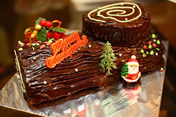 Christmas Feast Yule Log