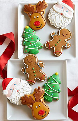 Gingerbread Friends Christmas Cookies