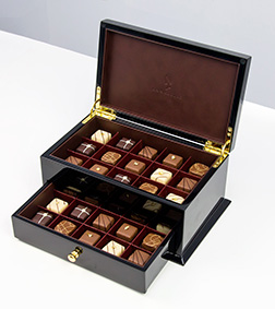 Black Deluxe Cabinet By Annabelle Chocolates