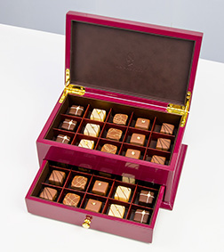 Red Deluxe Cabinet By Annabelle Chocolates