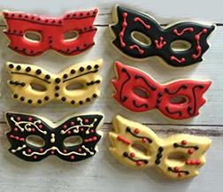 Assorted Masquerade Cookies