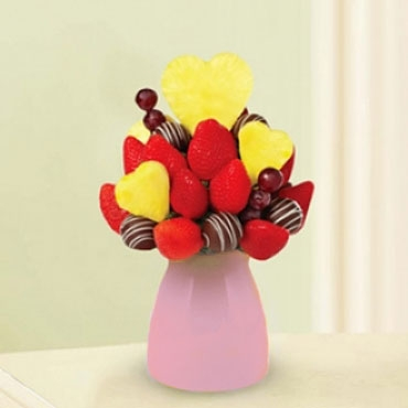 Sweetheart Decadence Fruit Bouquet