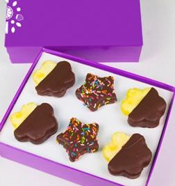 Chocolate Covered Star Pineapple and Pineapple Daisy Duo