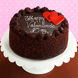Valentine Hearts Signature Chocolate Cake