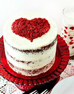 In a Heartbeat Cake