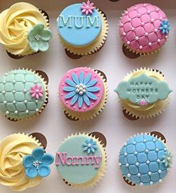Delicious Delights Mom Cupcakes