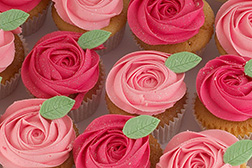 Pretty Pink Roses CupCakes