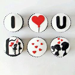 Young Love Dozen Cupcakes