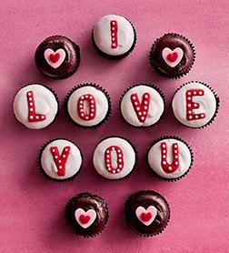 Love Note Dozen Cupcakes