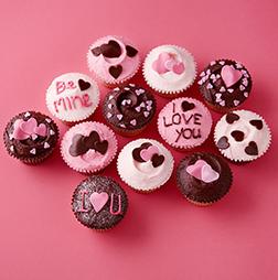 Lover's Gifts Dozen Cupcakes