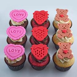 Fairytale Love - 6 Cupcakes